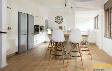 תכלת מטבחים - כאשר אתם חולמים על מטבח כפרי מושלם בדירתכם!