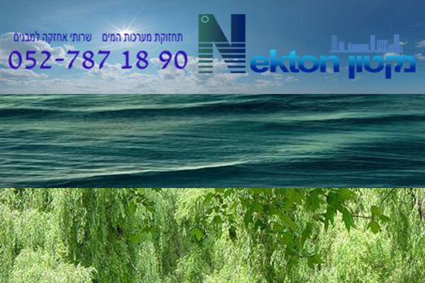 מקטון - מערכות מים - פורטל בית משותף
